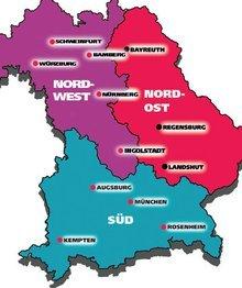 Bildungsregionen Jugend Bayern