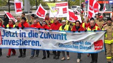 Streik Bund und Kommunen