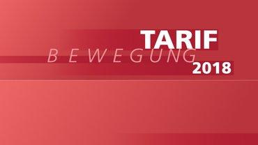 Tarifbewegung 2018