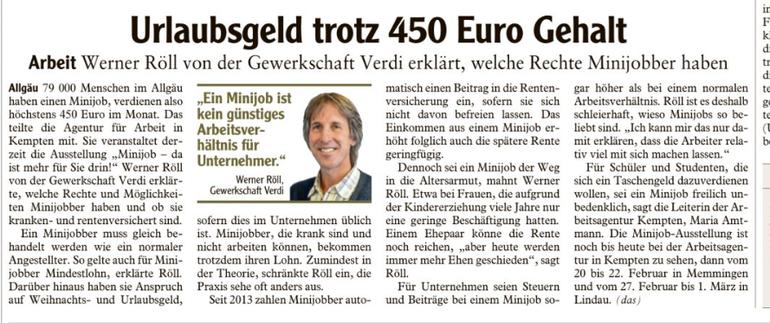 Allgäuer Zeitung vom 15.02.2018
