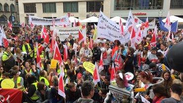 Tarifrunde öD: Demo und Kundgebung in München, 10. April 2018