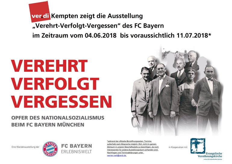 Ausstellung : Verehrt - verfolgt - vergessen