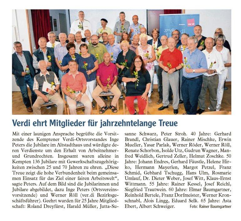 Allgäuer Zeitung vom 30.06.2018